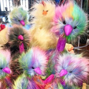 Jellycat Rainbow Pom Pom Bird