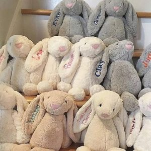 Jellycat stuffed bunnies