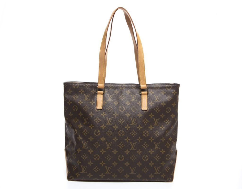 Louis Vuitton Monogram Canvas Cabas Mezzo Bag 208048 www.bellabag.com